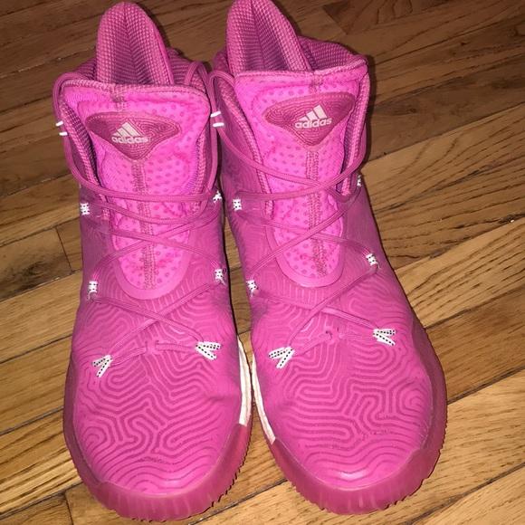 En la mayoría de los casos código Morse Contribuir  adidas Shoes | Adidas Andrew Wiggins Basketball Shoes Pink | Poshmark